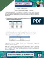 Evidencia 5 Ejercicio Practico Proyeccion de Oferta y Demanda.