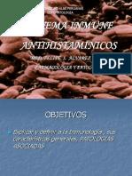 SISTEMA INMUNE Y ANTIHISTAMINICOS  PATOLOGIA Y FARMACOLOGIA  2018-I.ppt