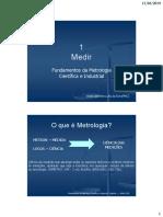 Metrologia Cientifica e Industrial Cap 1