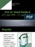 Dr. Ahmed Smajlović