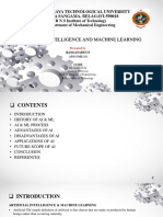 AI and ML ppt