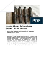 Inyector Citroen Berlingo Xsara Partner 1