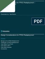 Fpso Redeployment Study