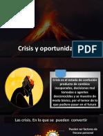Crisis Oportunidad AYUNO IBE Callao Abril 2019