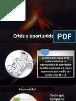 Crisis Oportunidad AYUNO IBE IV Callao Abril 2019