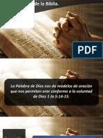 Oraciones de La Biblia III IBE Callao 2018
