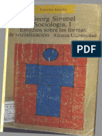 Simmel - Sociología, estudios sobre las formas de socialización Vol. I.pdf