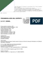 Hegel, Georg Wilhelm Friedrich-Fenomenología del Espíritu.pdf