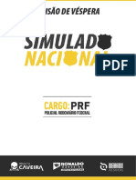 Simulado Nacional - PRF