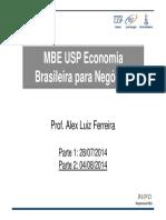 MBA USP Economia
