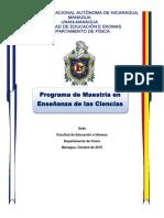 Maestría en Enseñanza de Las Ciencias Final 021015
