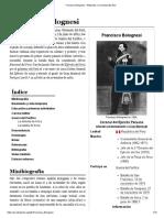 Francisco Bolognesi - Wikipedia, La Enciclopedia Libre