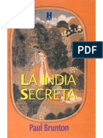 Brunton, Paul - La India Secreta