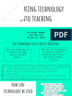 integrating technology into teaching   1