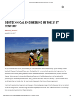 Geotechnical Engineering in the 21st Century _ Terracon