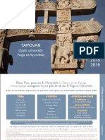 Tapovan Open University Ayurveda 2019
