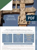 Tapovan Open University Ayurveda 2019