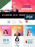 Programación #FILBOCINE 2019