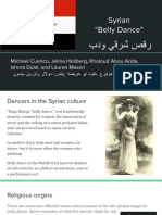 syrian belly dancing