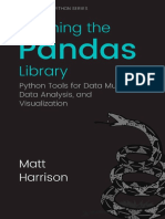 pandas pdf | R (Programming Language) | Application Programming