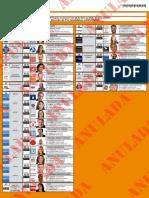 Precandidatos a Diputados provinciales