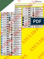 Precandidatos a Concejales