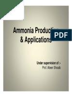 2014graduaitonprojectiammoniaproductionandoptimization-180129064611