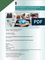 Folleto de Incidencia de La Gestión Del Conocimiento y Los Sistemas de Información Virtual en El PNCVFS