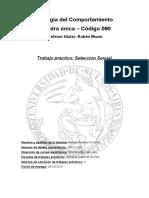 Biología Del Comportamiento-Trabajo