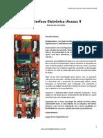 201801-Manual de Instruções Interface Eletrônica IAccess II