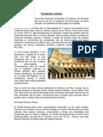 Fundación Romana