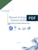 Manual de Usuario Sistema SIGESP_ Contabilidad Presupuestaria de Gasto (1)
