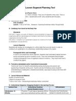 lesson segment planning tool spring 19 - google docs