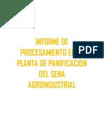 # 2 Informe Con Diagrama Galletas Polvorosa y Pan Con Bienestarina