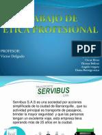 Trabajo Etica Profesional