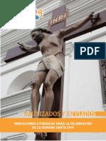 Indicaciones Litúrgicas, Semana Santa 2019 (1)