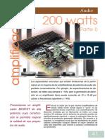Amplificador 200W L-MOSFET