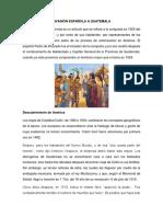 Invasión Española a Guatemala