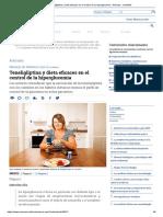 Teneligliptina y Dieta Eficaces en El Control de La Hiperglucemia