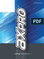 Catalogo AXPRO 2016