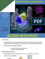 DNA e Síntese de proteínas