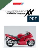 1999 CBR1100XX Super Blackbird