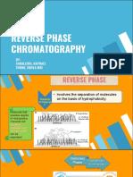 Reverse Phase Chromatography