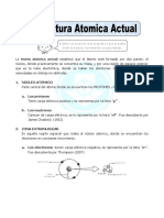 Ficha Estructura Atomica Actual