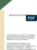 23. Balanced Scorecard