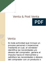 27. Venta & Post Venta