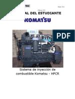 Sistema de Inyeccion de Combustible Komatsu HPCR