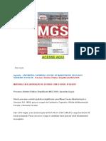 Apostila PDF MGS Cantineiro, Capineiro, Servente Escolar, Oficial de Manutenção Escolar