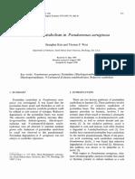 Pyrimidine catabolism in Pseudomonas aeruginosa.pdf