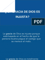 La Gracia de Dios Es Injusta